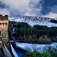 Buy canvas prints of  Derwent Dam by Neil Ravenscroft