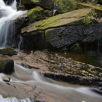 Buy canvas prints of  Lumsdale by Neil Ravenscroft