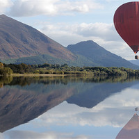 Buy canvas prints of Lake District Ballooning by Gavin Wilson