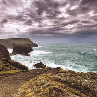Buy canvas prints of Lands End by David Yeaman