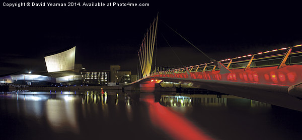 Imperial War Museum, Salford Quays Canvas print by David Yeaman