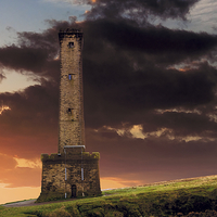Buy canvas prints of Peel Monument by David Yeaman
