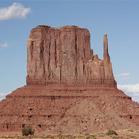 Buy canvas prints of Monument Valley Mittens by Julie Ormiston