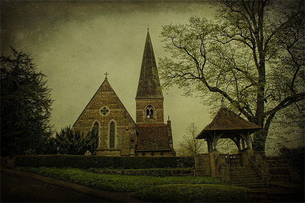St James The Great Titsey Canvas print by Dave Godden