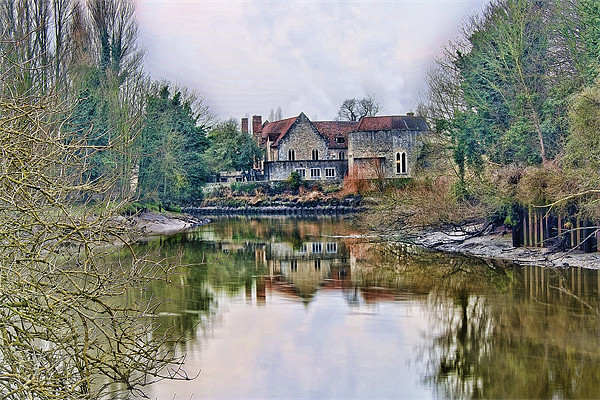 The Friars Aylesford Canvas print by Dave Godden