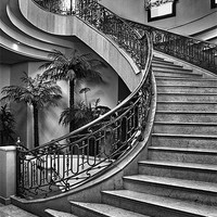 Buy canvas prints of Spanish Stairs by Dave Godden