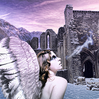 Buy canvas prints of Angel Breath by Dave Godden