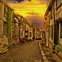 Buy canvas prints of Mermaid Street Rye by Dave Godden