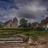 Buy canvas prints of St Margaret Of Antioch Lower Halstow by Dave Godden