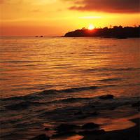 Buy canvas prints of Laguna Sunset by Tom Hard