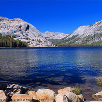 Buy canvas prints of Tenaya Lake, Yosemite by Tom Hard