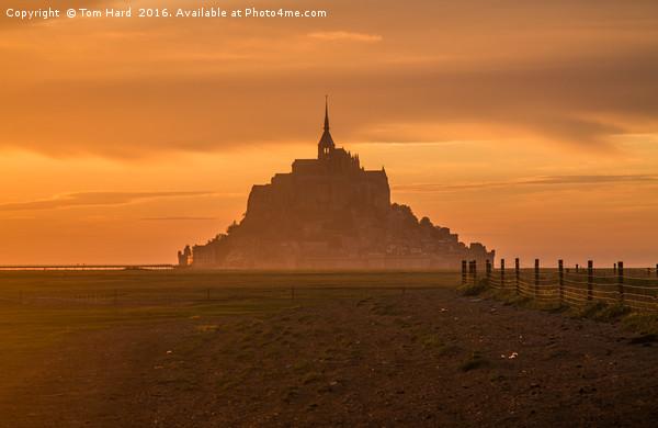 Le Mont Saint Michel Canvas print by Tom Hard