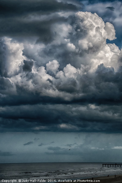 Stormy Weather Canvas print by Judy Hall-Folde