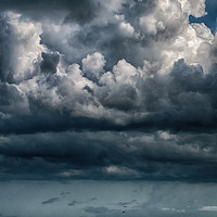 Buy canvas prints of Stormy Weather by Judy Hall-Folde