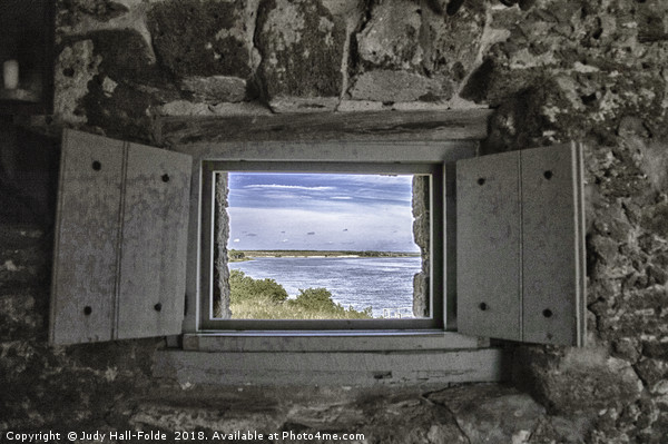South View from Fort Matanzas Canvas print by Judy Hall-Folde