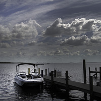 Buy canvas prints of Peaceful Waters by Judy Hall-Folde