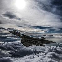 Buy canvas prints of Vulcan Bomber by Paul Heasman