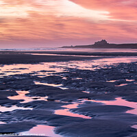 Buy canvas prints of Northumberland Sunrise by P H