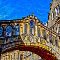 Buy canvas prints of bridge of sighs by carl  blake canvas & prints