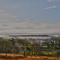 Buy canvas prints of mountain fog by carl blake canvas &