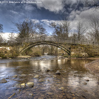 Buy canvas prints of Beckfoot Bridge by nick hirst