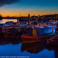 Buy canvas prints of Last rays of light by Matthew  Bruce