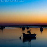 Buy canvas prints of Dusky tranquility by Matthew  Bruce