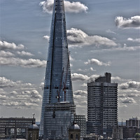 Buy canvas prints of The Shard London by Philip Pound