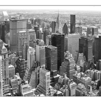 Buy canvas prints of Manhattan from Empire State Building by Philip Pound