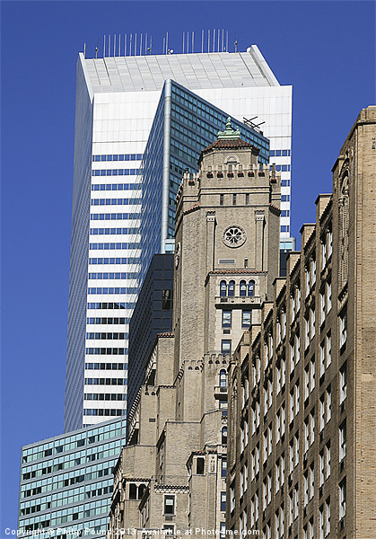 New York Architecture Canvas print by Philip Pound