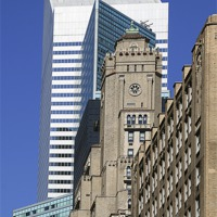 Buy canvas prints of New York Architecture by Philip Pound
