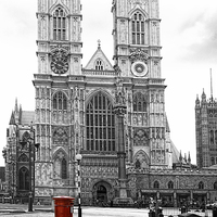Buy canvas prints of Westminster Abbey London by Philip Pound