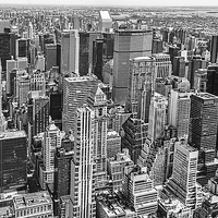 Buy canvas prints of  Manhattan Skyscrapers New York by Philip Pound