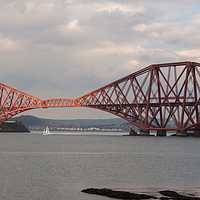 Buy canvas prints of Forth Bridge by Derek Corner