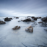 Buy canvas prints of Trevaunance Cove by mark leader
