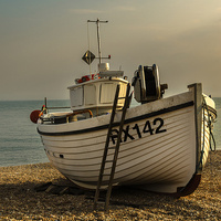 Buy canvas prints of How to Get On Board by Ian Lewis