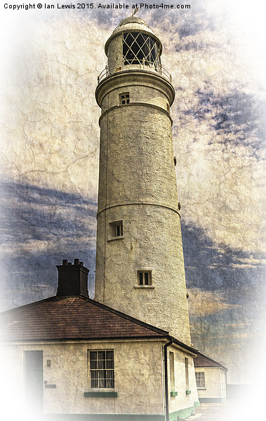 Nash Point East Tower Canvas print by Ian Lewis