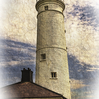 Buy canvas prints of  Nash Point East Tower by Ian Lewis