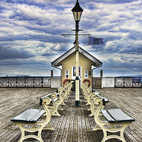 Buy canvas prints of  End Of The Pier Show by Ian Lewis