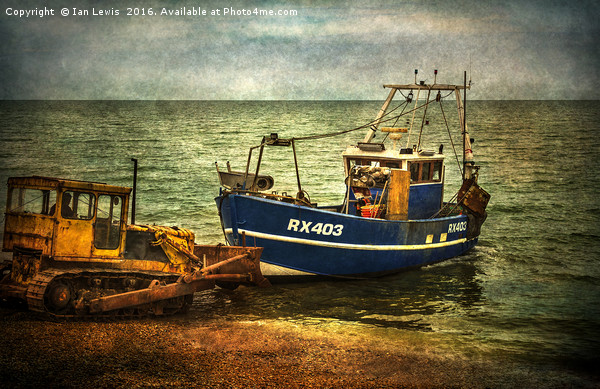 Launching from The Stade Canvas print by Ian Lewis