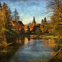 Buy canvas prints of Whitchurch on Thames by Ian Lewis