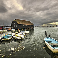 Buy canvas prints of Bosham Harbour by Ian Lewis