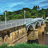 Buy canvas prints of Bridge Over The River Wye by Ian Lewis