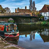 Buy canvas prints of Hungerford Wharf by Ian Lewis