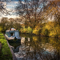 Buy canvas prints of An Autumn Afternoon At Hungerford by Ian Lewis