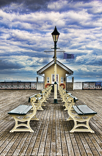 The End Of The Pier Show Print by Ian Lewis
