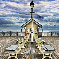 Buy canvas prints of The End Of The Pier Show by Ian Lewis