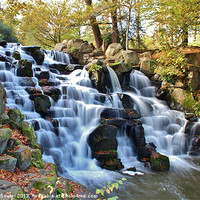 Buy canvas prints of Natures Falls by Debra Souter