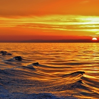 Buy canvas prints of Wave to the Sun by Debra Souter