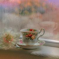 Buy canvas prints of Rainy Days by Debra Farrey